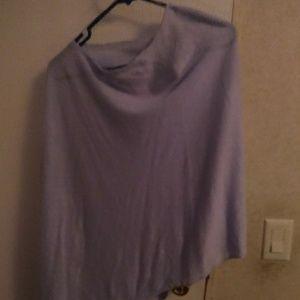 Lavender shall/cape